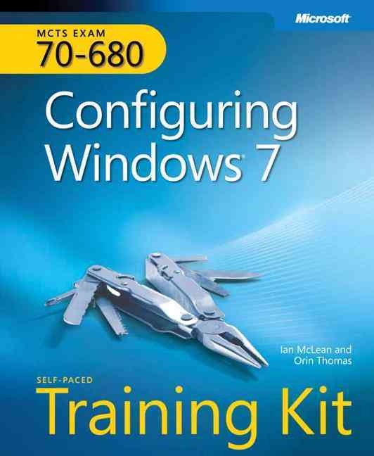 MCTS Self-Paced Training Kit (Exam 70-680) By McLean, Ian/ Thomas, Orin